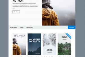 The Author Pro Theme