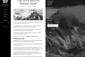 The Sixteen Nine Pro Theme